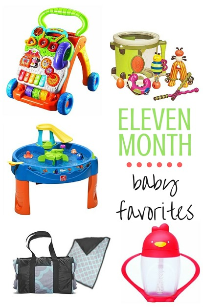 11 MONTH Baby Favorites