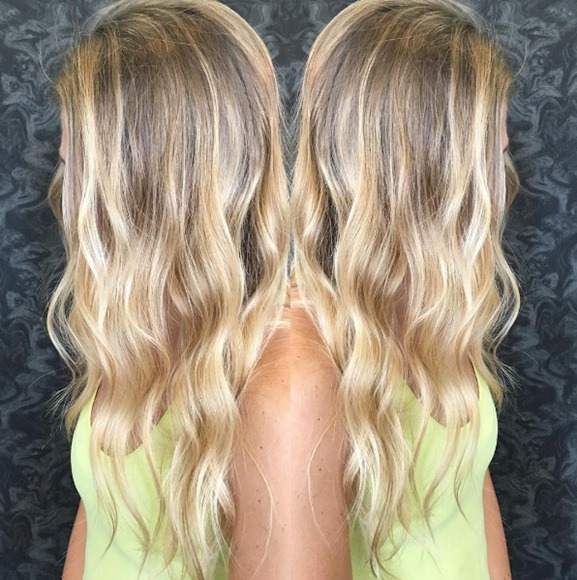 Balayage on Natural Blonde