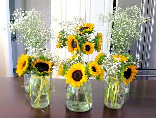 First Birthday Party Flowers