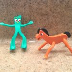 Gumby and Pokey Figurines