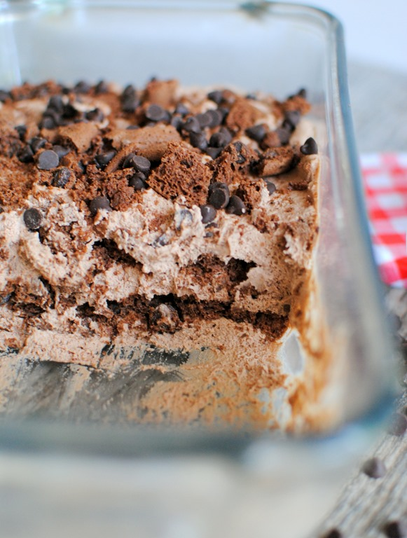 Mocha Chocolate Icebox Cake Video
