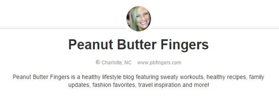 PBFingers Pinterest