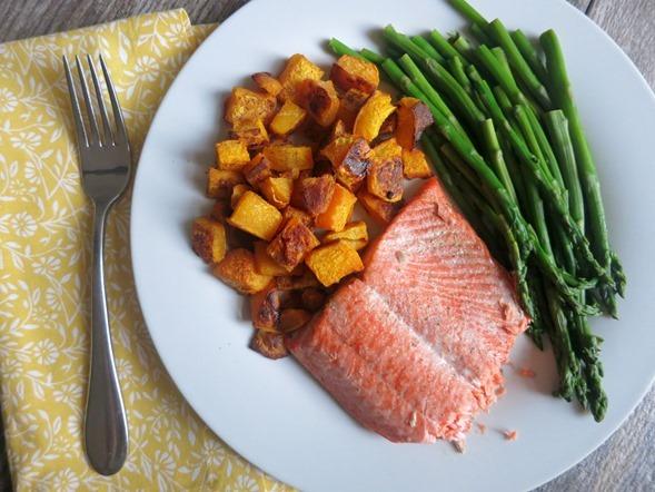 Sockeye Salmon Dinner