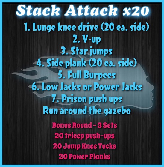 Total Body STACK Workout