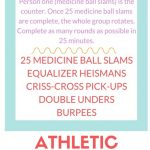 Athletic Conditioning Workout