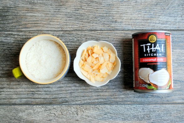 Coconut Three Ways