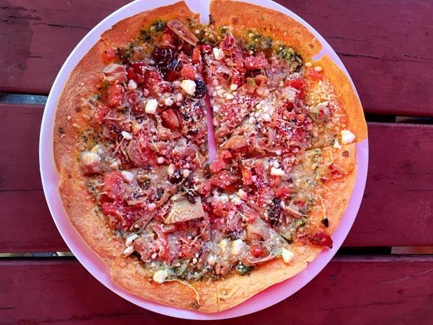 Foxfire Grill Mediterranean Pizza