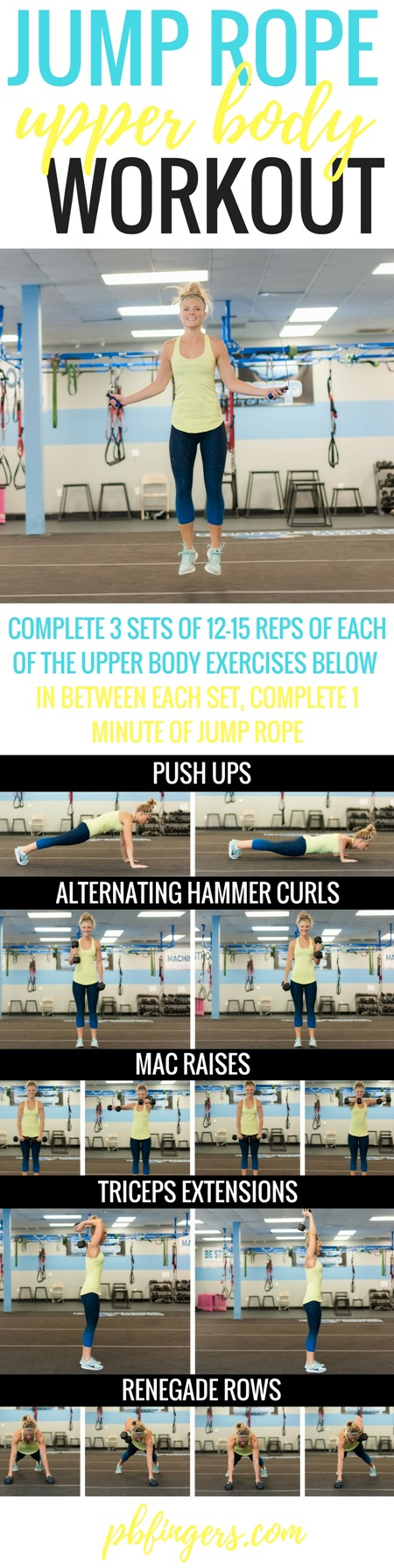 JUMP ROPE Upper Body WORKOUT
