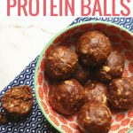 Ridiculously Easy Double Chocolate Protein Balls