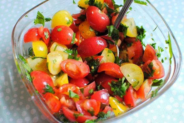 Tomato Cilantro Lime Salsa