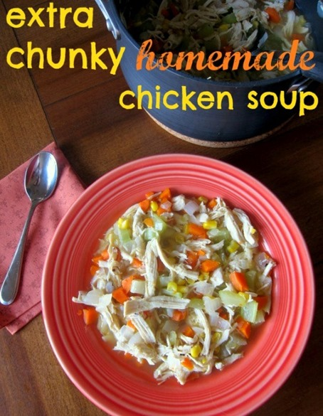 Extra Chunky Chicken Soup
