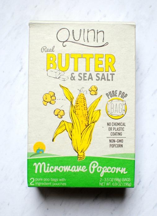 Quinn Microwave POpcorn