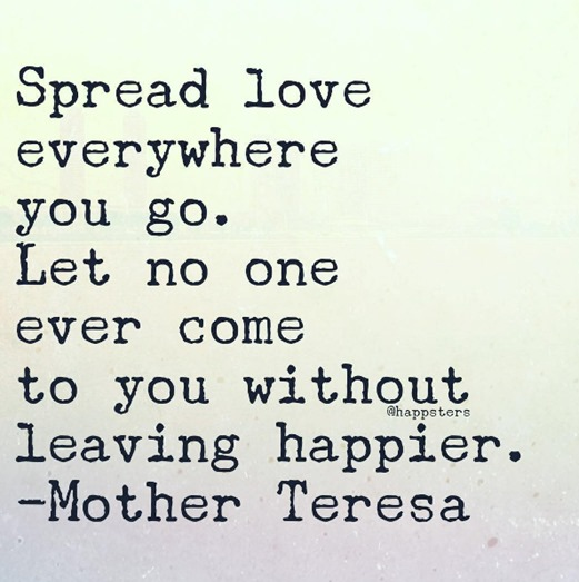 Spread Love Quote