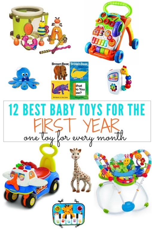 12 Months Baby Toys : Best baby toys for the first year one toy every month