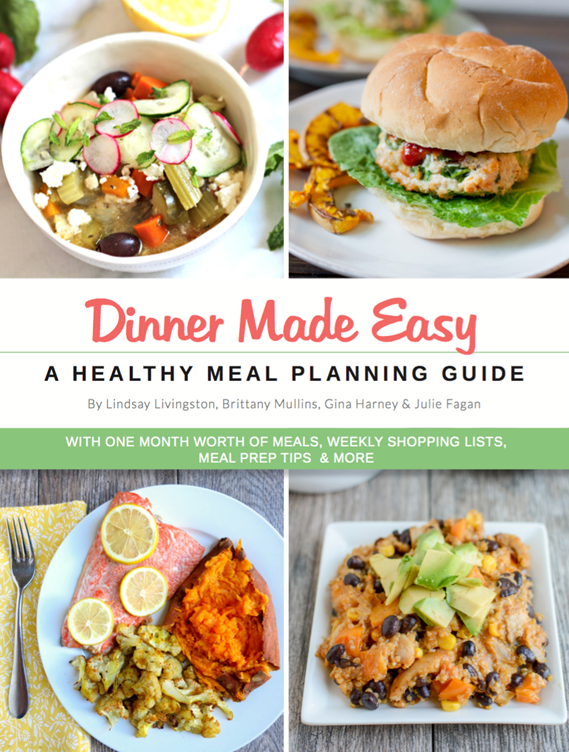 Healthy dinner meal plan one month of healthy dinners dinner made easy one month healthy dinner meal plan forumfinder Image collections