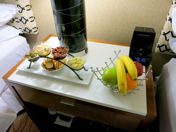 Fresh Fruit and Snacks Sheraton Chicago