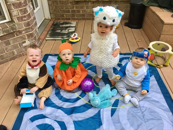 Halloween Baby Play Date