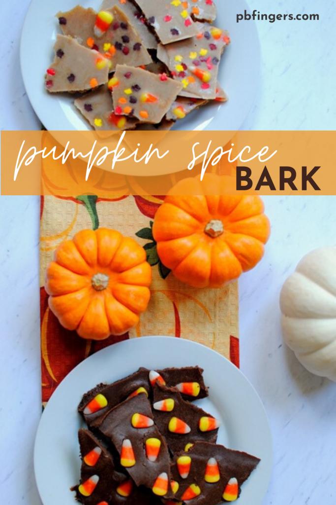 Pumpkin Spice Bark
