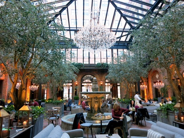 Restoration Hardware Chicago Brunch