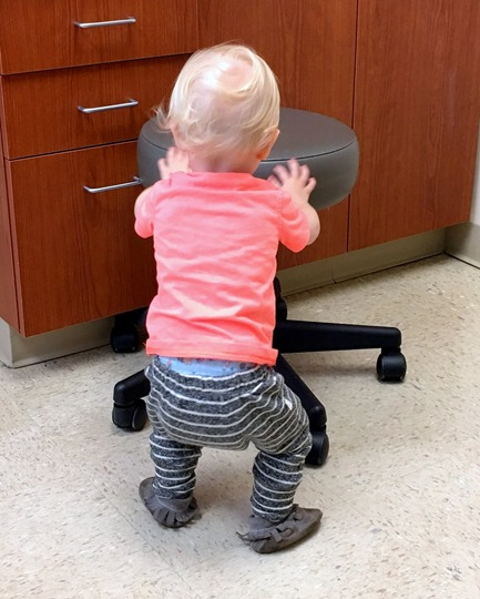 Toddler Spinning Stool
