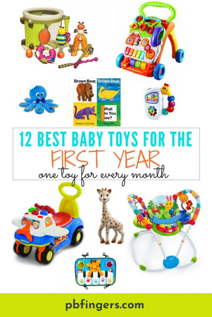 12 Best Baby Toys for the First Year