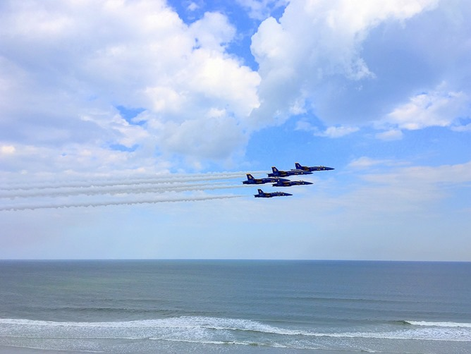 Blue Angels Sky Show 2016