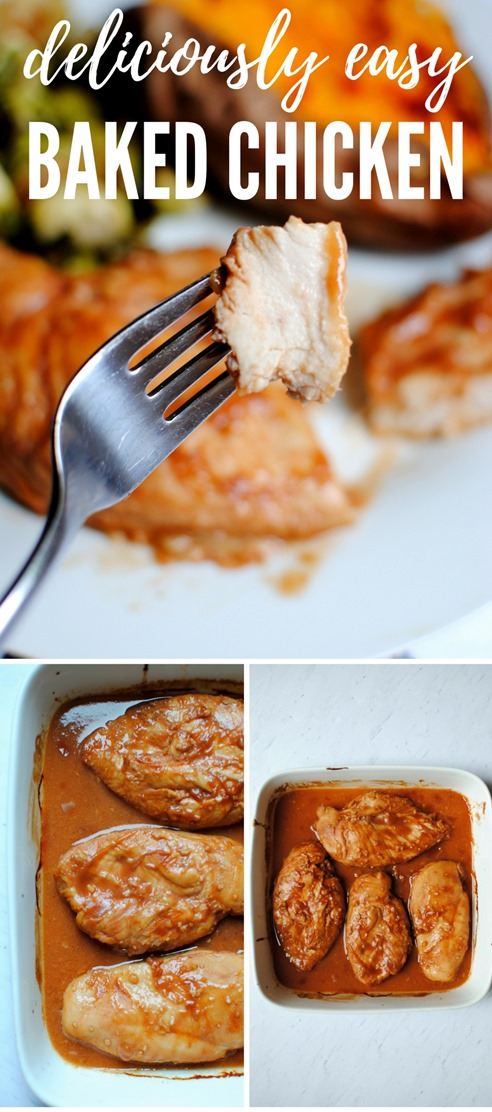 Deliciously Easy Baked Chicken