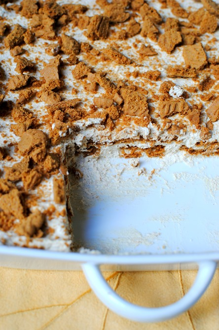 Easy No Bake Pumpkin Icebox Cake