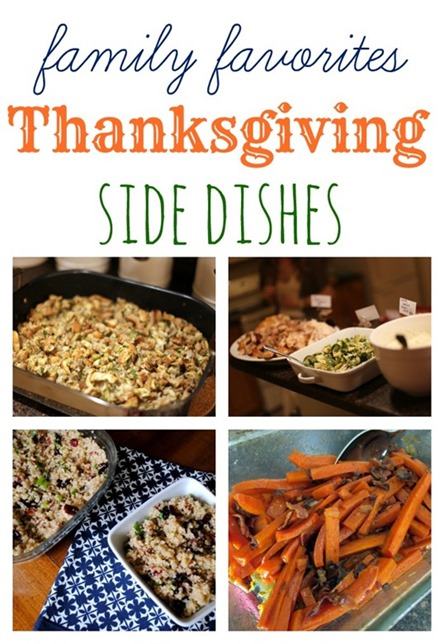 Family Favorite Thanksgiving Side Dishes