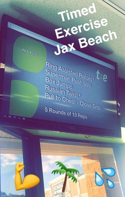 Timed Exercise Jacksonville Beach