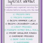 Killer Upper Body Superset Workout