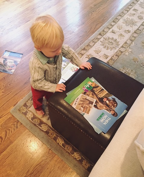 Baby's Favorite Magazine Clippings