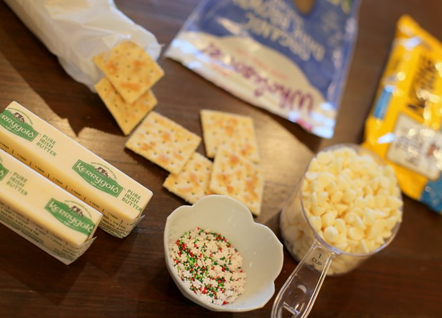 Christmas Crack Recipe Saltines
