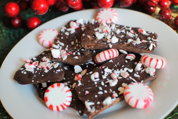 Dairy Free Peppermint Bark