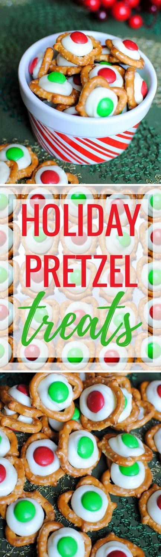 Easy Holiday Pretzel Treats