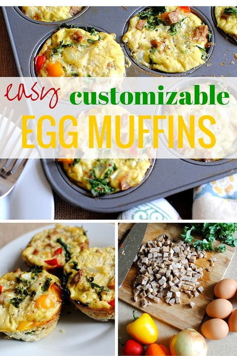 Easy Customizable Egg Muffins