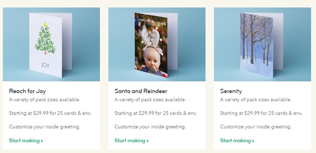 Moo Holiday Cards