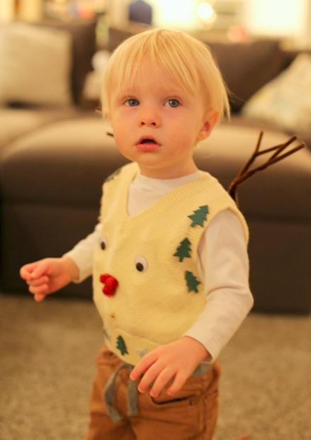 Reindeer Ugly Sweater