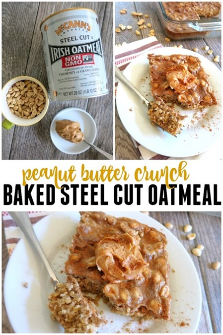 baked steel cut oatmeal