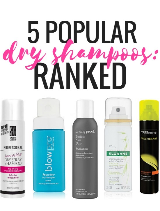 5 Popular Dry Shampoos: Ranked