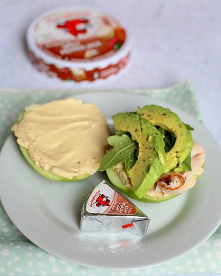 Apple Turkey Cheese Arugula