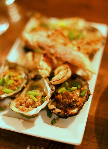 Char Grilled Oysters Duckworths