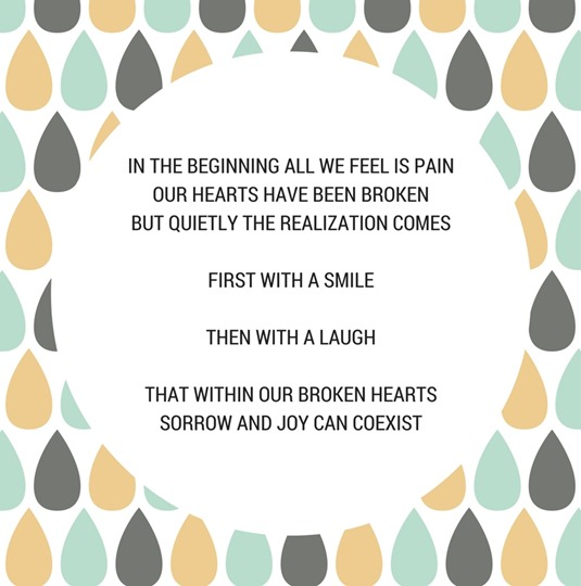 Grief and Joy Can Coexist