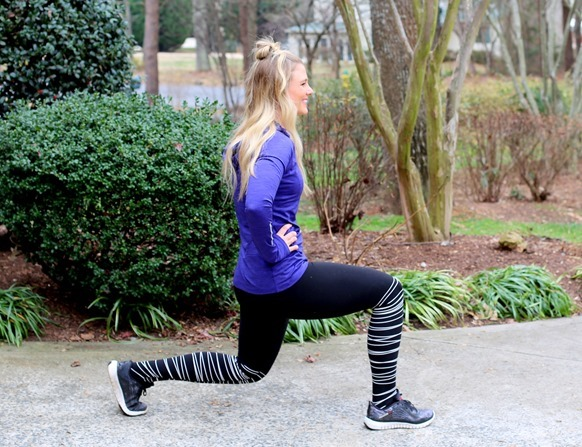 Lunge Leg Workout
