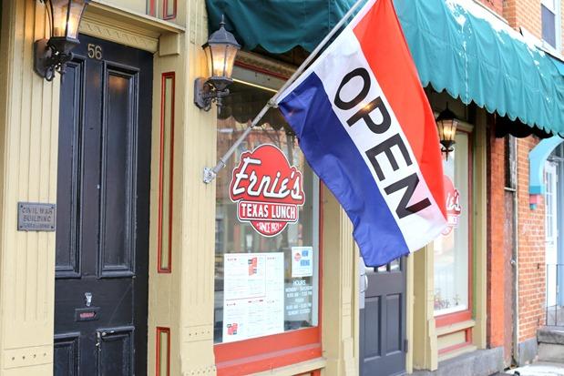 Texas Lunch Hotdogs Ernie's Gettysburg