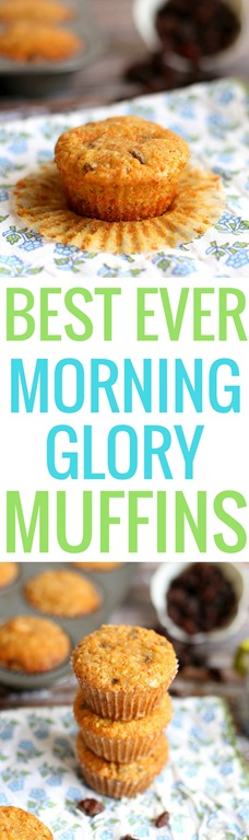 Best Ever Morning Glory Muffins (The BEST Recipe from Sunflour Baking ...