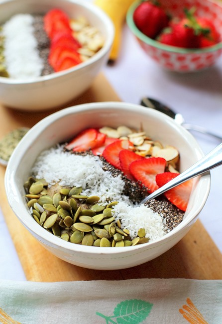 Dairy Free High Protein Hemp Oatmeal