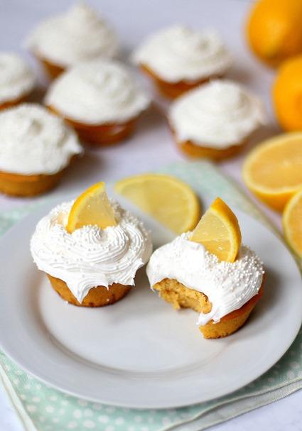 Easy Paleo Lemon Cupcakes