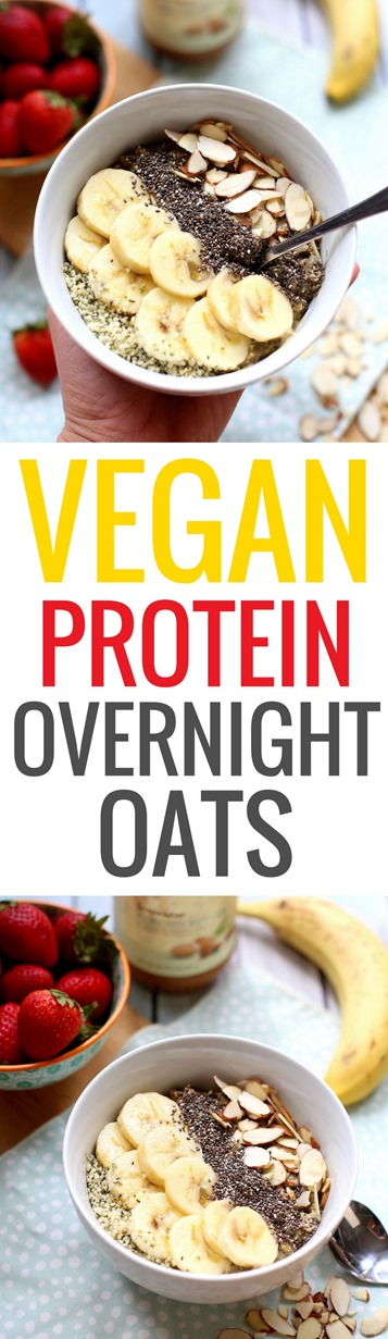 Protein Vegan Overnight Oats