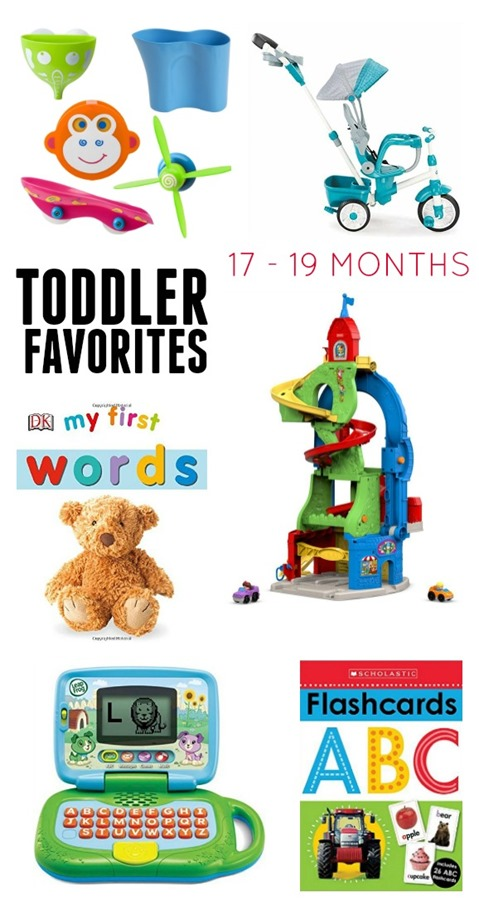 Toddler Favorites 17-19 months